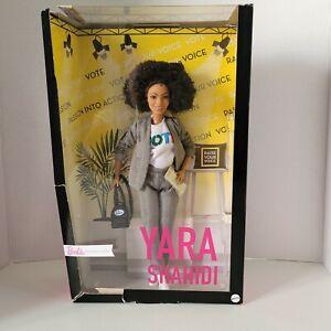 """Mattel Barbie Signature Yara Shahidi Doll Shero 12"""" Inches Petite Made to Move"""