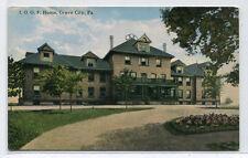 IOOF Home Grove City Pennsylvania 1910c postcard