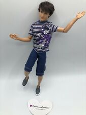 Mattel 2010 Barbie- Ken RYAN Fashionistas Sporty- 100 poses