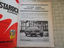 REVUE TECHNIQUE FORD TAUNUS MODELES 71
