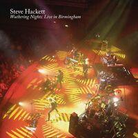 STEVE HACKETT - WUTHERING NIGHTS: LIVE IN BIRMINGHAM  4 CD NEU