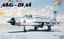 MiG-21 M (NVA DDR, POLNISCHE, SOVIETISCHE MARKIERUNG) #72038  1/72 RV AIRCRAFT