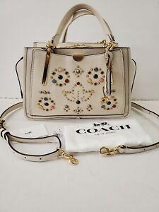 AUTHENTIC COACH DREAMER WITH RIVETSSatchel  Handbag MSRP $595 w/Dust Bag