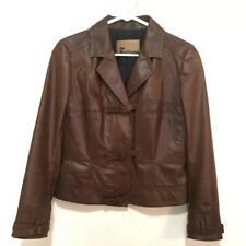 John Galliano Women's Brown Pigskin Leather Jacket Size 6