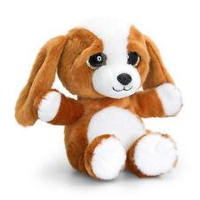 Korimco Beagle Sparkle Eyes Dog [20cm] Soft Plush Toy NEW