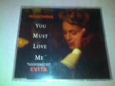 MADONNA - YOU MUST LOVE ME - UK CD SINGLE