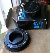 Genuine Tamron Adaptall m42 Pentax tornillo de montaje, también Mamiya m42 abierto de medición