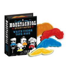 Moustachios Sticky Notes moustache office strange gift