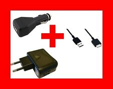 ★★★ car/mains charger + usb cable 150cm for sony walkman nwz-a845