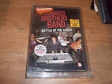 Nickelodeon Naked Brothers Band: Battle of the Bands (Music DVD, 2007) NEW