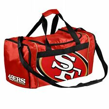 San Francisco 49ers Duffle Bag Gym Swimming Carry On Travel Luggage Tote NEW