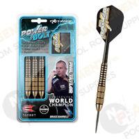 NEW Target Phil Taylor BRASS POWER BOLT Dart Board DARTS Pro Grip Shafts 24gram