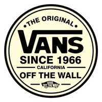 Vans Logo Vinyl Decal Stickers Skateboard Clothing Ski Skate Car Surf Vw Dub