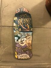 LC BOARDS Fingerboard Old School Shape Pool Graphic Holes New FREE Grip Tape