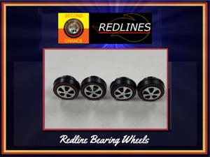 Hot Wheels Redline Replica: Set of 4-Small Bearing HK Style SCR-T0001