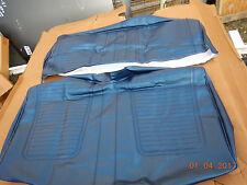 1969 CAMARO REAR SEAT COVERS DARK BLUE CONVERTIBLE RS SS Z28 69 STANDARD 327 396
