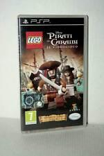 LEGO PIRATI DEI CARAIBI IL VIDEOGIOCO USATO SONY PSP EDIZIONE ITALIANA FR1 48092