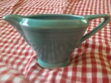Harlequin Fiesta -  Homer Laughlin   Turquoise  Creamer Pitcher