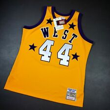 Authentic Jerry West Mitchell & Ness 1972 All Star Game Jersey Size 48 XL Mens