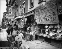 Old  New York City photo Delancy St.  about 1902 Vintage photo   print