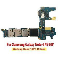 Scheda Madre Original Motherboard Per Samsung Galaxy Note 4 SM-N910F 32GB Unlock