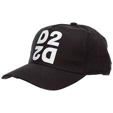 Dsquared2 Casquette Homme D2 Bcm026505c000012124 coton Réglable Nero Bonnet