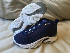 Authentic Reebok Answer 2 two OG Allen Iverson Navy Georgetown Hoyas Collection