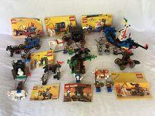 Vintage Lego Castle Sets Lot 6038, 6042,6034,6009,6057,6039,6020