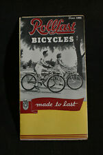 *VINTAGE* Rollfast Bicycles Catalog