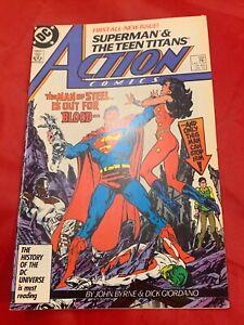 DC COMICS SUPERMAN & THE TEEN TITANS ISSUE 584