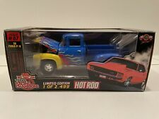 Racing Champions Issue 87 1/24 Scale 1956 Ford Pickup W/ Flames Hot Rod Magazine
