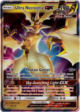 Pokemon Cards Ultra Necrozma GX Forbidden Light Ultra Rare 95/131 NM