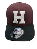 NCAA Harvard Crimson Hat Cap Adjustable Snapback Youth OS New