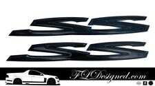 Holden/ HSV Ve/ Vf GLOSS Black SS Badges