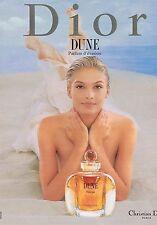 Publicité Advertising 016 1996 Dior parfum Dune