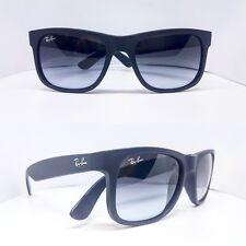Ray-Ban Justin 4165 601/8G Sunglasses, Matte Black, 55mm