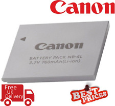 Canon NB-4L Battery for Canon PowerShot Elph Cameras (UK Stock)