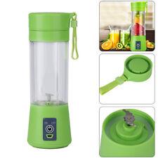 Portable 380ML USB Electric Fruit Juicer Smoothie Maker Blender Shaker Bottle UK