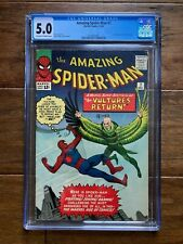 AMAZING SPIDER-MAN #7 Marvel 12/63 CGC 5.0  2nd Appearance of the Vulture