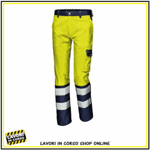 Pantaloni Alta Visibilità Giallo fluo Sir Safety