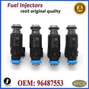 4X 96487553 Fuel Injector For Chevrolet Aveo Aveo5 06-08 Pontiac Wave Wave5 1.6L