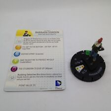 Heroclix Batman: Arkham Origins set Barbara Gordon #010 Uncommon figure w/card!