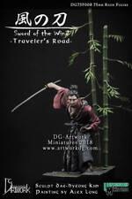 DG Artwork Sword of the Wind Samurai Ronin inc. scenic base 75mm Unpainted kit