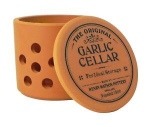 Henry Watson - Garlic Keeper/Pot/Cellar/Jar - Terracotta