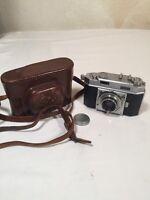 AGFA Karat 36 35mm GERMAN Film Camera Schneider Kreuznach Xenon 1:2 50mm Lens