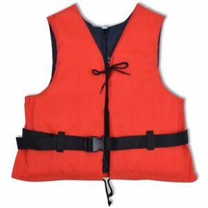 vidaXL Buoyancy Aid 50N 90+ kg Red Personal Flotation Waterski Life Jacket