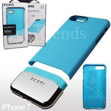 "INCIPIO Edge CHROME Slim SHOCKPROOF Hard Case for iPhone 8 (4.7"")Sky Blue Silver"
