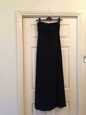 Next Black Evening Dress New With Tags Size 6-8 Holidays/Cruise