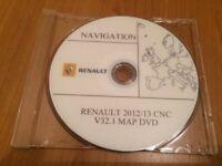GPS RENAULT DVD CNC  ORIGINAL NAVY SYSTEME  DVD EUROPE V32.1