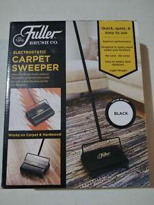 "Fuller Brush Electrostatic Carpet & Floor Sweeper -9"" Cleaning Path LIGHTLY USED"